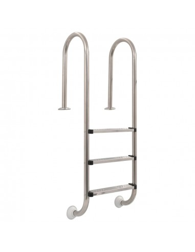 Baseino kopėtėlės, 3 pakopų, 120 cm, nerūdijantis plienas | Baseinų Kopėčios, Laipteliai ir Rampos | duodu.lt