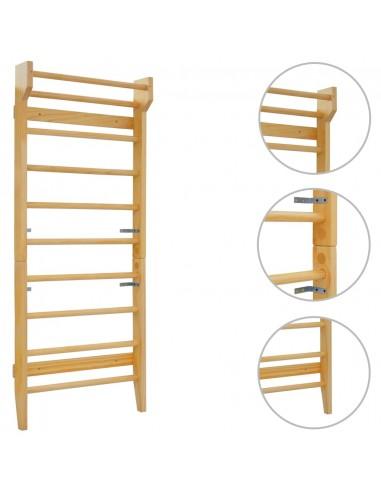 Sieninė karstyklė, 80x15,8x195 cm, mediena | Gimnastikos treniruokliai ir balansavimo įrenginiai | duodu.lt