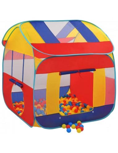 Žaidimų palapinė su 300 kamuoliukų, XXL  | Vaikiškos palapinės ir tuneliai | duodu.lt
