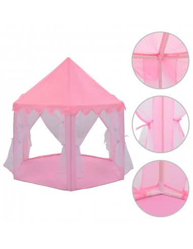 Princesių žaidimų palapinė, rožinės sp.    Vaikiškos palapinės ir tuneliai   duodu.lt