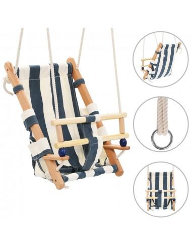 Kūdikių sup. kėdė su saugos diržu, mėl. sp., medvilnė, mediena | Kūdikių šokliukai ir sūpynės | duodu.lt