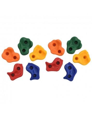 Laipiojimui skirti akmenys, 10vnt., įvairių spalvų, PE | Laipiojimas | duodu.lt