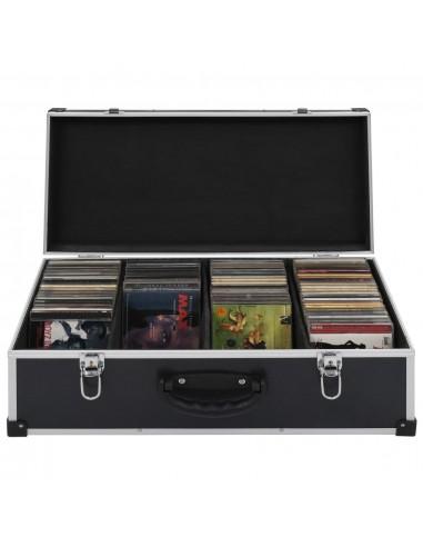 Kompaktinių diskų dėklas 80 diskų, juod. sp., aliuminis, ABS | DVD dėklai | duodu.lt