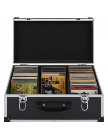 Kompaktinių diskų dėklas 60 diskų, juod. sp., aliuminis, ABS | DVD dėklai | duodu.lt
