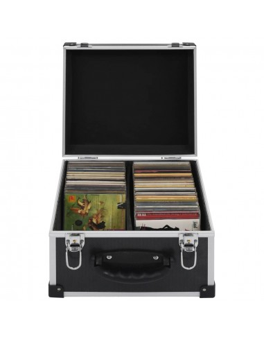 Kompaktinių diskų dėklas 40 diskų, juod. sp., aliuminis, ABS | DVD dėklai | duodu.lt