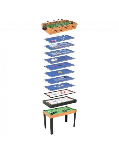Universalus žaidimų stalas, 15-1, klevo spalvos, 121x61x82cm   Kambario Žaidimai   duodu.lt