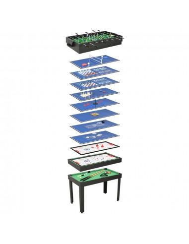 Universalus žaidimų stalas, 15-1, juodos spalvos, 121x61x82cm | Kambario Žaidimai | duodu.lt