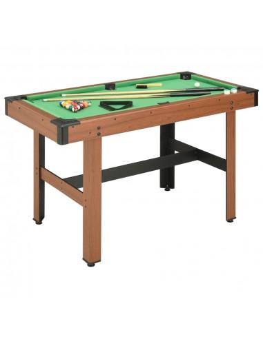 Biliardo stalas, 122x61x76cm, rudos spalvos, 4 pėdų ilgio   Biliardo Stalai   duodu.lt