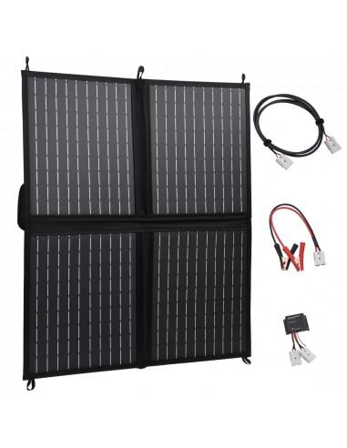 Sulankstomos saulės energijos plokštės įkroviklis, 80W, 12V | Saulės moduliai | duodu.lt