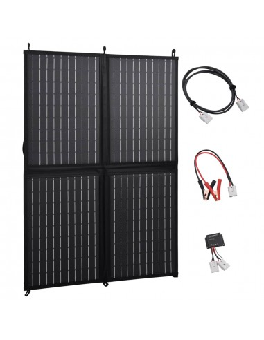 Sulankstomos saulės energijos plokštės įkroviklis, 100W, 12V | Saulės moduliai | duodu.lt
