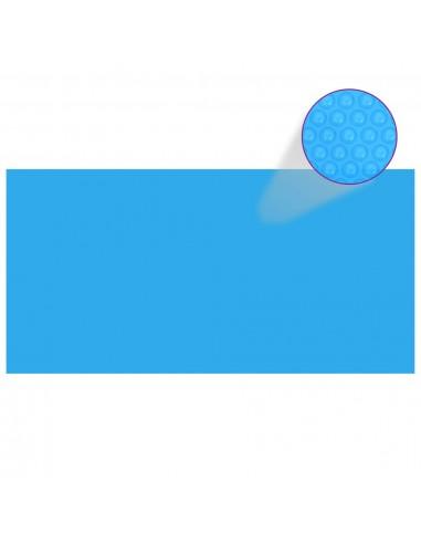 Baseino uždangalas, mėlynos spalvos, 400x200cm, PE | Baseinų Uždangailai ir Apsauginės Plėvelės | duodu.lt