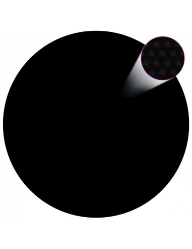 Baseino uždangalas, juodos spalvos, 417cm, PE | Baseinų Uždangailai ir Apsauginės Plėvelės | duodu.lt