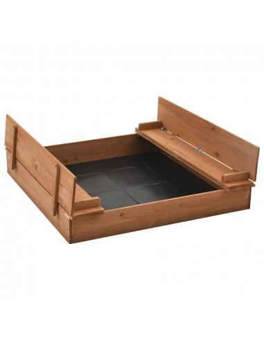 Smėlio dėžė, 95x90x15cm, eglės mediena | Smėlio Dėžės | duodu.lt