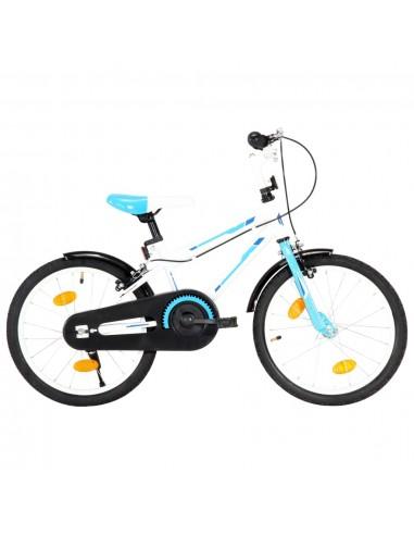 Vaikiškas dviratis, mėlynos ir baltos spalvos, 18 colių    Dviračiai   duodu.lt