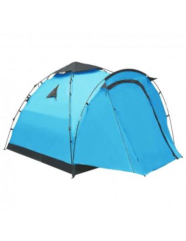 Savaime pasistatanti trivietė stovyklavimo palapinė, mėlyna | Palapinės | duodu.lt