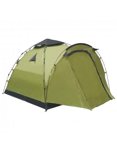Savaime pasistatanti trivietė stovyklavimo palapinė, žalia   Palapinės   duodu.lt
