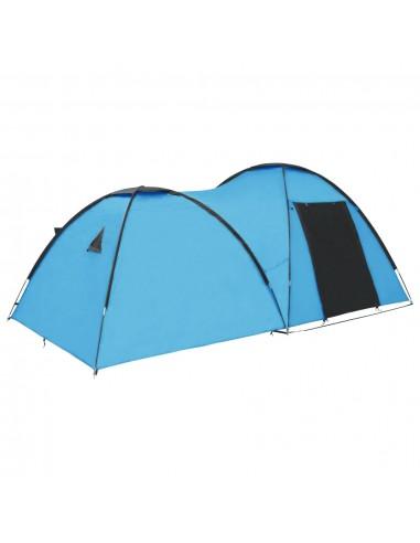 Stovyklavimo palapinė, mėlyna, 450x240x190cm, iglu tipo   Palapinės   duodu.lt