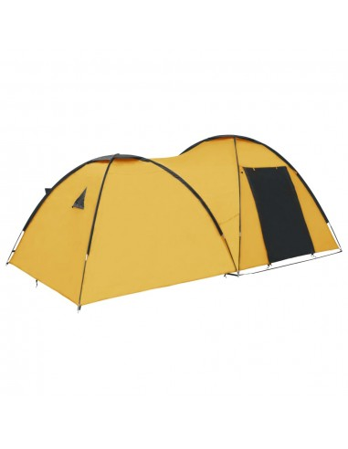Stovyklavimo palapinė, geltona, 450x240x190cm, iglu tipo | Palapinės | duodu.lt