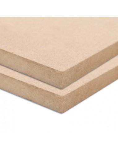 MDF plokščių lakštai, 2vnt., 120x60cm, 12mm, stačiakampiai | Medžiagos dailiesiems darbams | duodu.lt