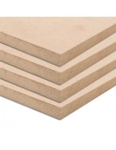 MDF plokščių lakštai, 4vnt., 60x60cm, 25mm, kvadratiniai | Medžiagos dailiesiems darbams | duodu.lt