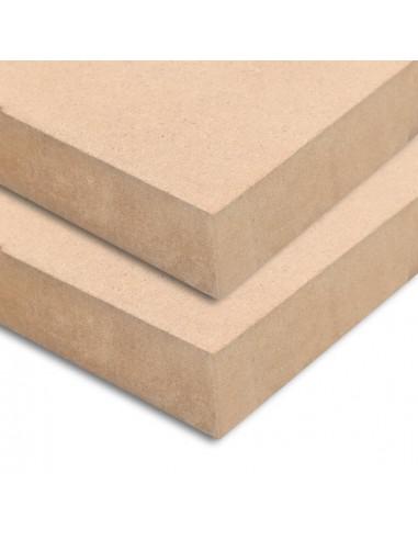 MDF plokščių lakštai, 2vnt., 120x60cm, 25mm, stačiakampiai | Medžiagos dailiesiems darbams | duodu.lt