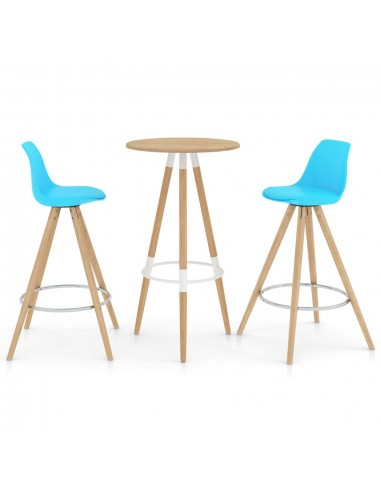 Baro baldų komplektas, 3 dalių, mėlynos spalvos (287257+287269) | Virtuvės ir Valgomojo Baldų Komplektai | duodu.lt
