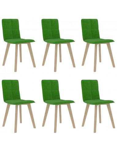 Valgomojo kėdės, 6vnt., žalios spalvos (289495+289505)   Virtuvės ir Valgomojo Kėdės   duodu.lt