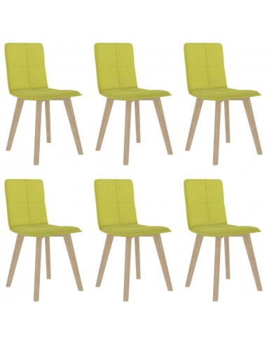 Valgomojo kėdės, 6vnt., garstyčių geltonos (289497+289507) | Virtuvės ir Valgomojo Kėdės | duodu.lt