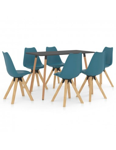 Valgomojo baldų komplektas, 7 dalių, turkio (287244+3x324227) | Virtuvės ir Valgomojo Baldų Komplektai | duodu.lt