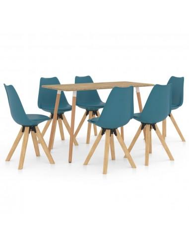 Valgomojo baldų komplektas, 7 dalių, turkio (287245+3x324227) | Virtuvės ir Valgomojo Baldų Komplektai | duodu.lt
