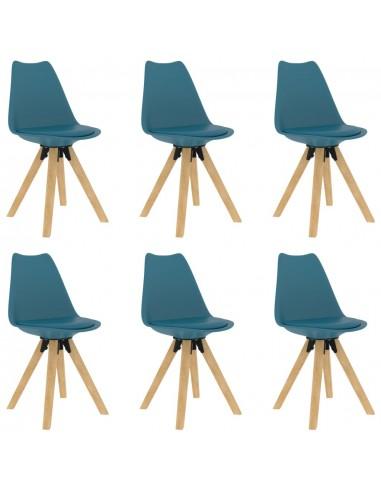 Valgomojo kėdės, 6vnt., turkio spalvos   Virtuvės ir Valgomojo Kėdės   duodu.lt