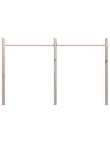 Sulankstomas stalo futbolo stalas, 121x61x80cm, juodas | Stalo Futbolo Stalai | duodu.lt