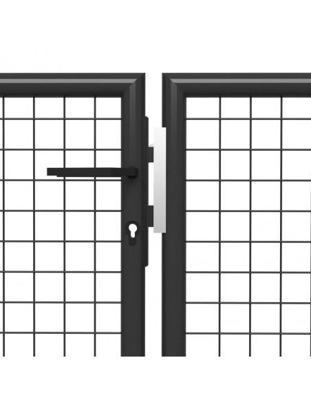 Persirengimo spintelė, 9 skyrių, plieninė, 90x45x180 cm, pilka | Garderobo ir biuro spintelės | duodu.lt