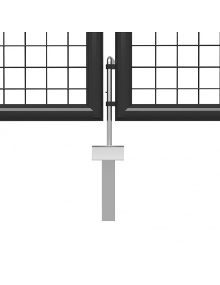 Įrankių spint. su 2 durim., plien., 90x40x180cm, juoda ir raud. | Įrankių Spintos ir Dėžės | duodu.lt