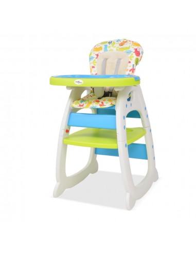 Trys viename sulankstoma vaikiška kėdutė, mėlyna ir žalia   Vaikiškos kėdės   duodu.lt