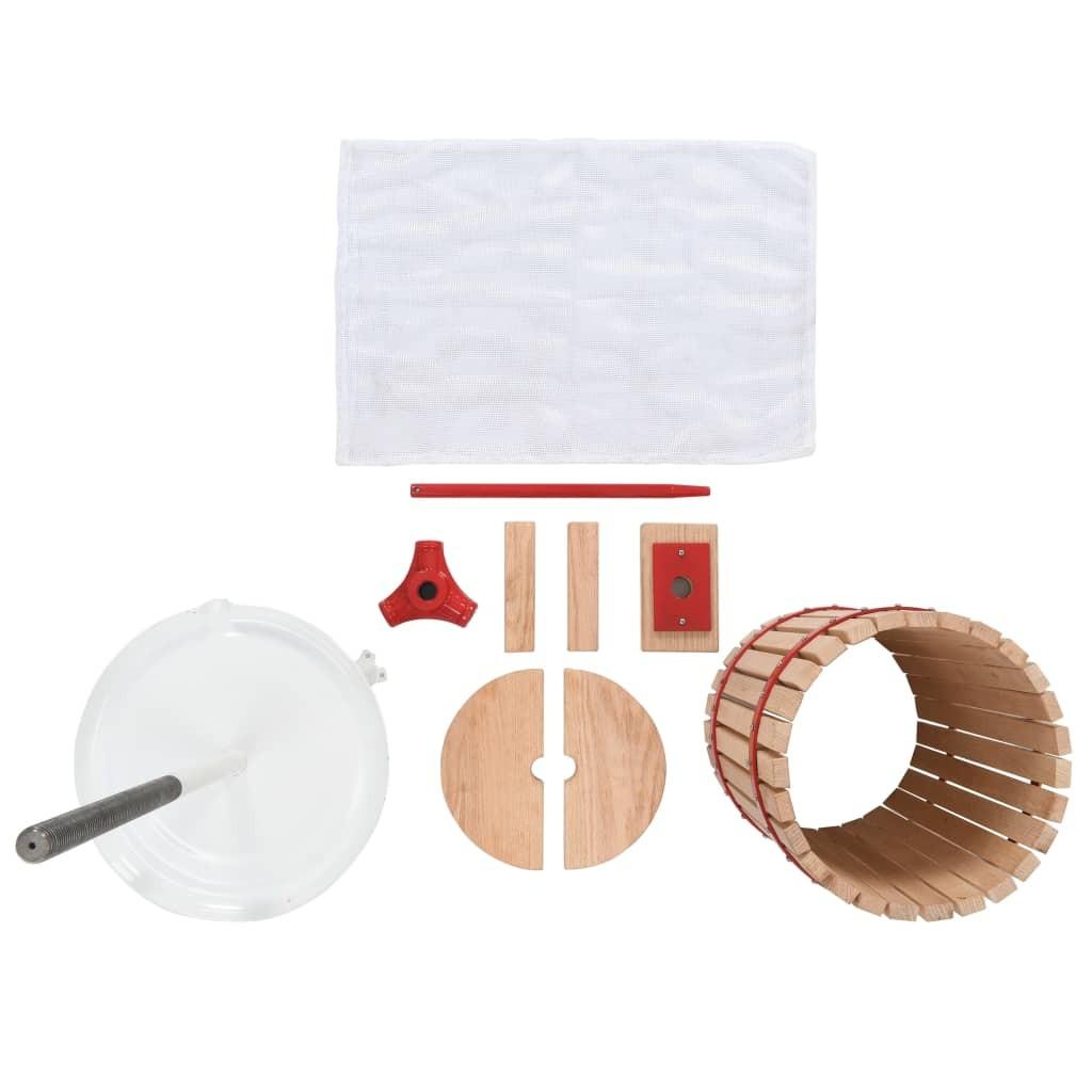 Naktinis staliukas, 2 vnt., su stalčiu, ruda/balta  | Naktiniai Staliukai | duodu.lt