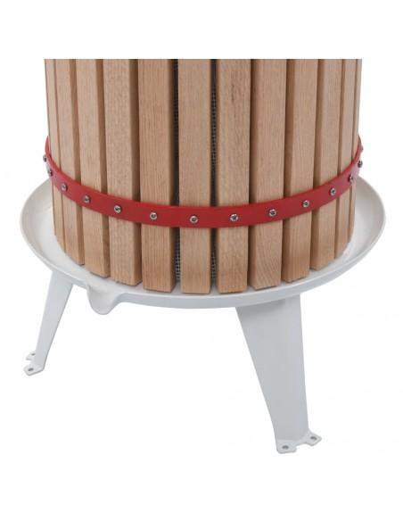 Naktinis staliukas, 2 vnt., su stalčiu, ruda/balta    Naktiniai Staliukai   duodu.lt