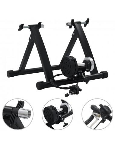 """Treniruoklis dviratis, juodos spalvos, 26\\""""-28\\"""", plienas   Aksesuarai dviračiams treniruokliams   duodu.lt"""