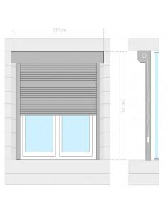 Modulinė spinta, 9 skyrių, juoda/balta, 37x115x150 cm  | Drabužių spintos | duodu.lt