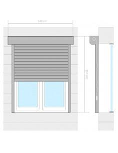 Modulinė spinta, 9 skyrių, balta, 37x115x150 cm  | Drabužių spintos | duodu.lt