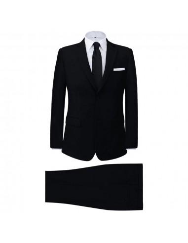 Vyriškas Dviejų Dalių Klasikinis Kostiumas, Juodas, Dydis 50 | Kostiumai | duodu.lt
