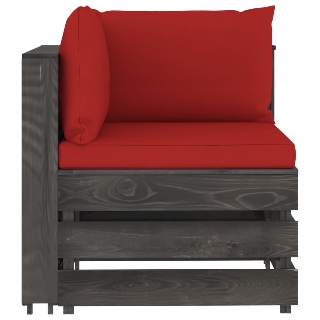 Atsistojantis atlošiamas krėslas, tamsiai rudas, audinys | Foteliai, reglaineriai ir išlankstomi krėslai | duodu.lt