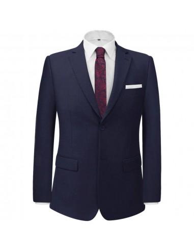Vyriškas 2 d. Klasikinis Kostiumas, Tamsiai Mėlynas, Dydis 50   Kostiumai   duodu.lt
