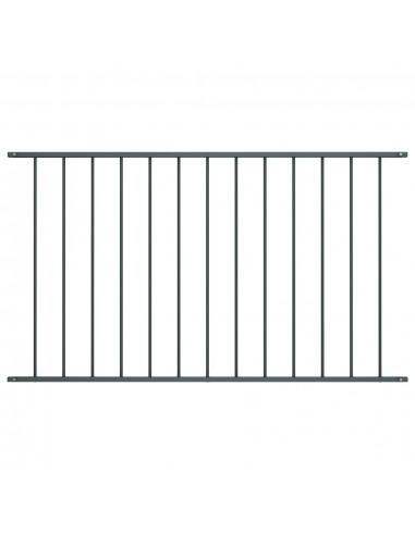 Tvoros plokštė, antracito spalvos, 1,7x1m, plienas | Tvoros Segmentai | duodu.lt