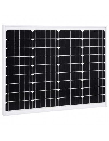 Saulės energijos plokštė, aliuminis, stiklas, monokr., 50W | Saulės moduliai | duodu.lt