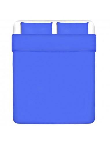 patalynės komplektas, mėlynas, medvilnė 200x220/80x80 cm | Pūkinės antklodės | duodu.lt