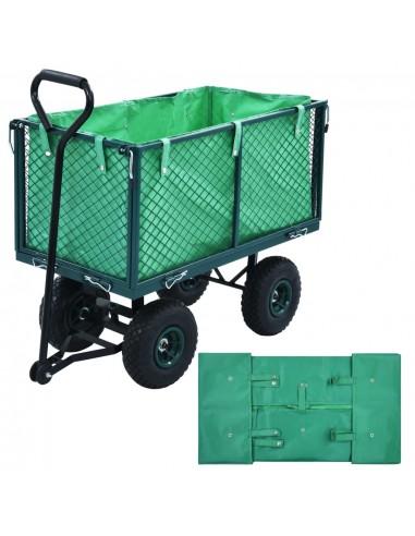 Sodo vežimėlio įdėklas, žalios spalvos, audinys | Dalys karučiams | duodu.lt