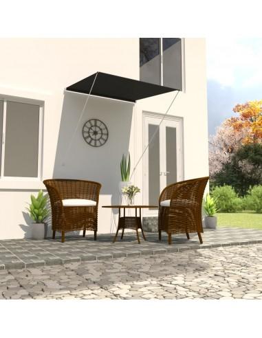 Ištraukiama markizė, antracito spalvos, 100x150cm | Langų ir durų markizės | duodu.lt