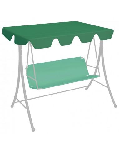 Pakaitinis skliautas sūpynėms, žalias, 150/130x70/105cm  | Tentų ir Pavėsinių Stogeliai | duodu.lt