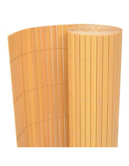 Kambario pertvara iš bambuko, natūralios spalvos, 250x195 cm    Kambario Pertvaros   duodu.lt
